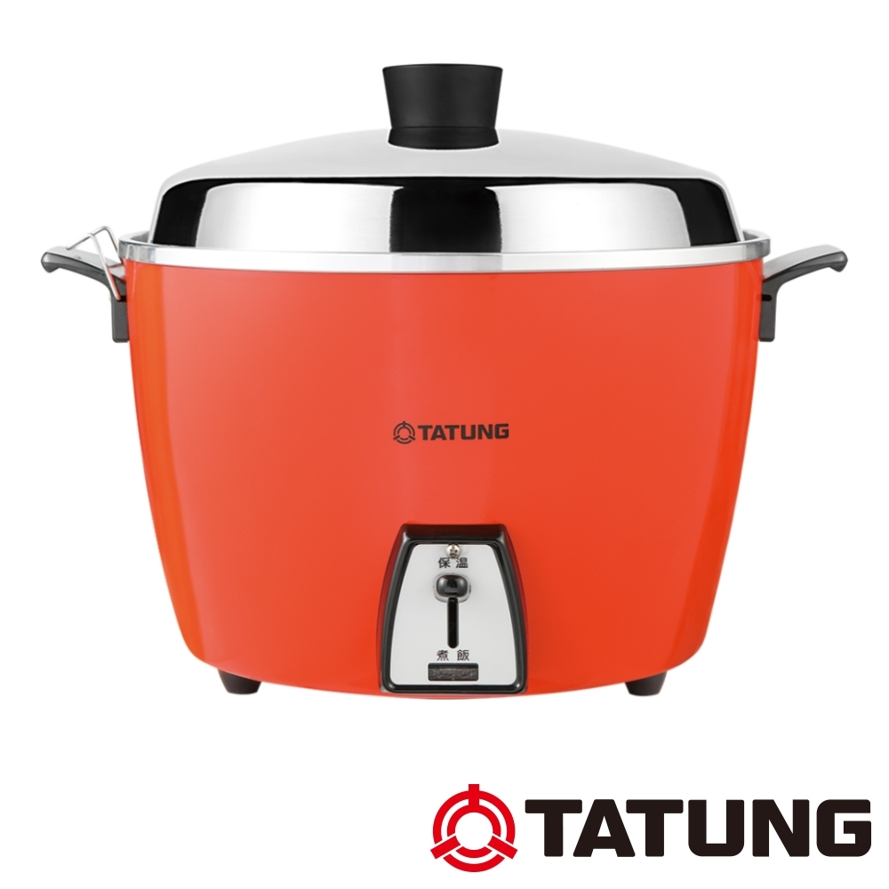 [熱銷推薦]TATUNG大同 10人份不鏽鋼內鍋電鍋(TAC-10L-DR)