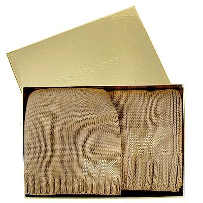 [時時樂]MICHAEL KORS 新款圍巾毛帽禮盒(多款)