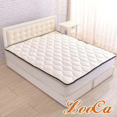 LooCa 3M防潑水-超厚8cm兩用日式床墊(雙人)