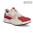 ECCO MULTI-VENT W 全方位城市戶外運動休閒鞋 女-紅/粉/米色