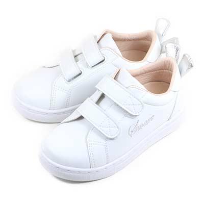 Swan天鵝童鞋-兔子小耳朵中童休閒鞋3863-白