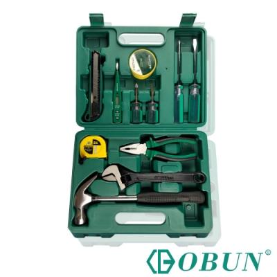 OBUN 12件多功能家用維修五金工具套組 101102