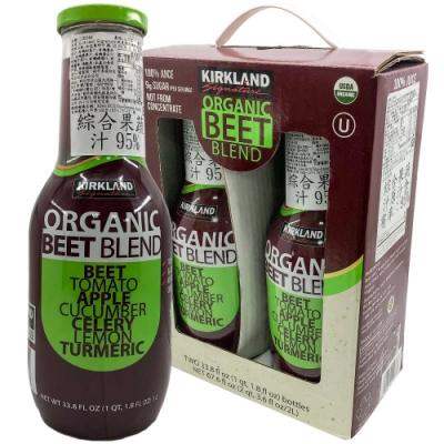 Kirkland Signature 科克蘭 有機甜菜根蔬果汁(1Lx2入)