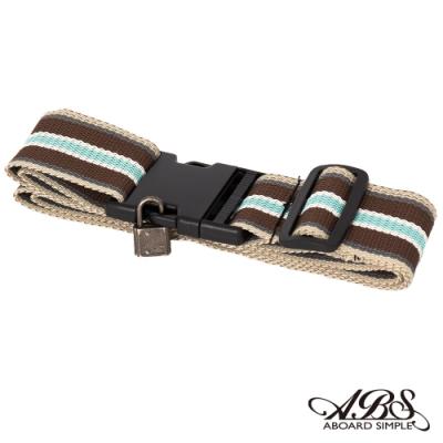 ABS愛貝斯 台灣製造繽紛旅行箱束帶單入 捆綁帶 可調式行李打包帶66-051D2