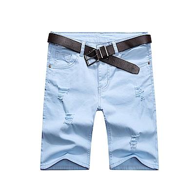 BuyGlasses 抓破抽鬚刀割休閒短褲