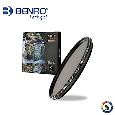 BENRO百諾 (82mm)可調式減光鏡 SHD NDX-HD LIMIT ULCA WMC