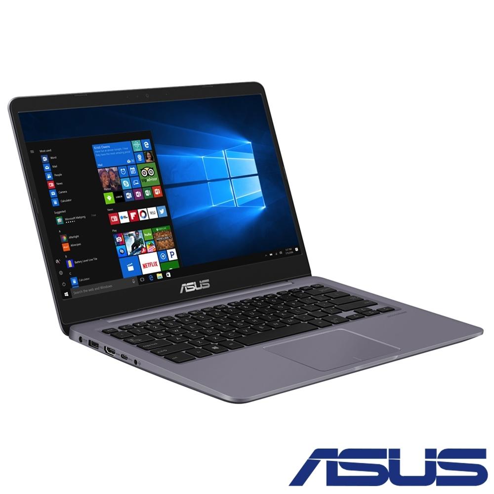 [時時樂限定] ASUS S410UA 14吋筆電 (i3-8130U/4G/128G)
