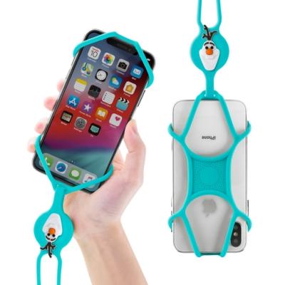 【BONE】冰雪奇緣-頸掛手機綁