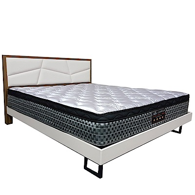 Albert 艾柏 抗菌防蹣5尺天絲雙人彈簧床墊-150x188x26.7cm免組
