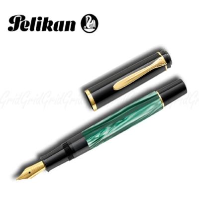 德國PELIKAN百利金 M200 綠色大理石紋鋼筆