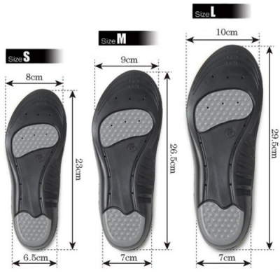 JHS杰恆社abe150外銷運動鞋墊透氣減震加厚男女吸汗防臭矽膠氣墊軟籃球鞋輕夏季薄abe150
