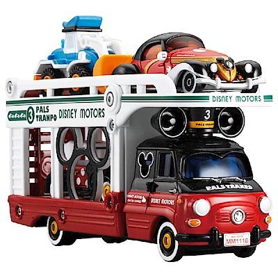 任選TOMICA 迪士尼運輸車米奇DS11653(小車另購)多美小汽車
