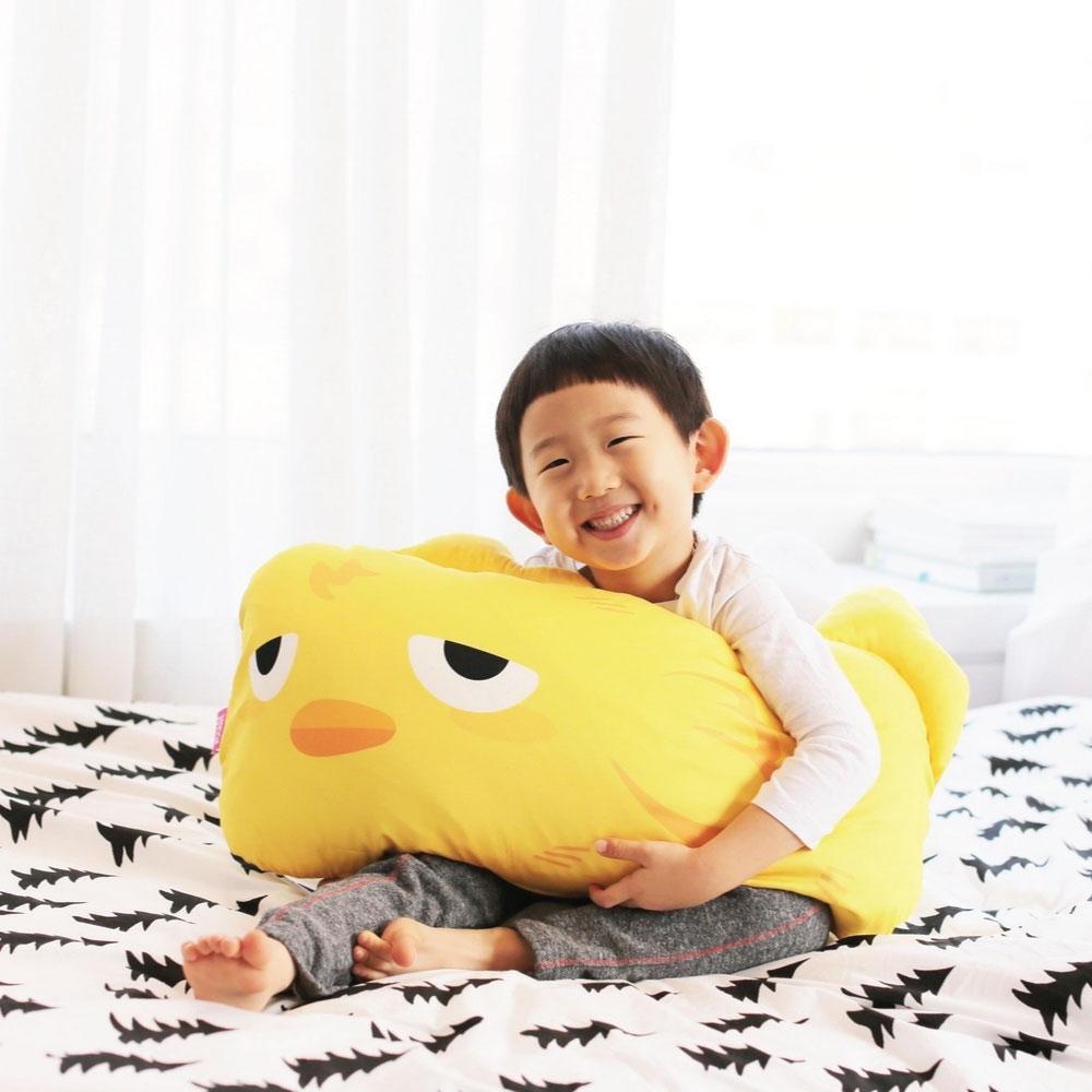 韓國【Monster Park】 小怪獸單人造型枕(小萌雞)