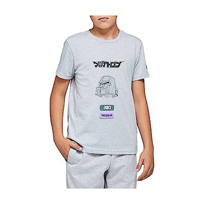 ASICS 兒童短袖上衣 x 變形金剛聯名 2194A002-021(灰)