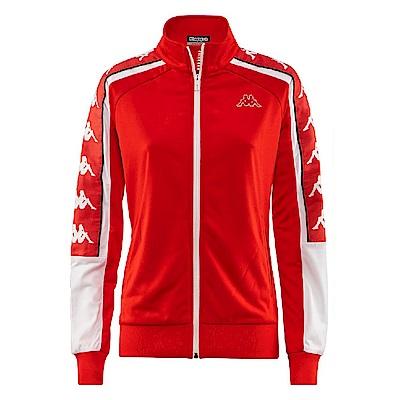 KAPPA義大利紅色女針織運動外套222Banda10限量款3031QD0900