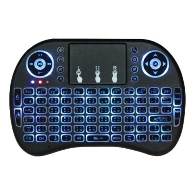 UFO-2 七彩背光無線滑鼠觸控板鍵盤