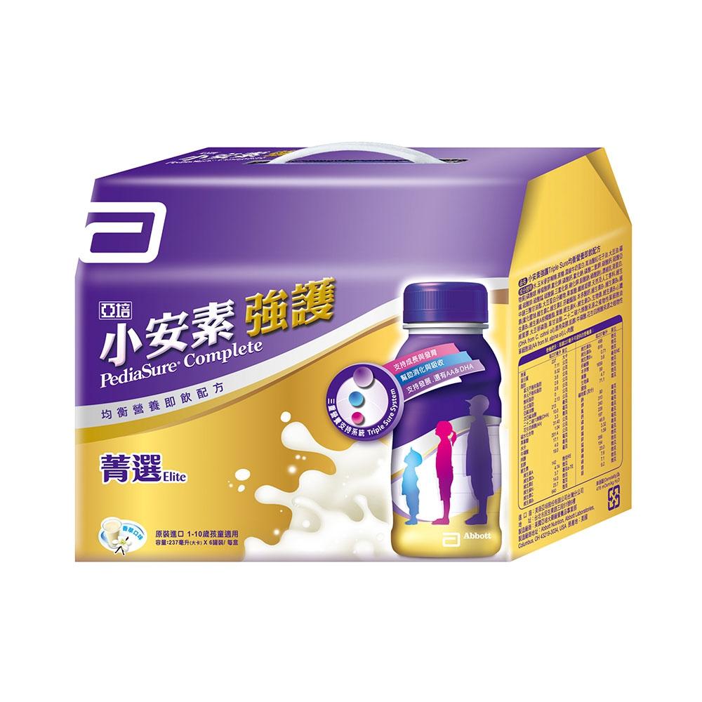亞培 小安素強護即飲配方禮盒(237mlX6入)