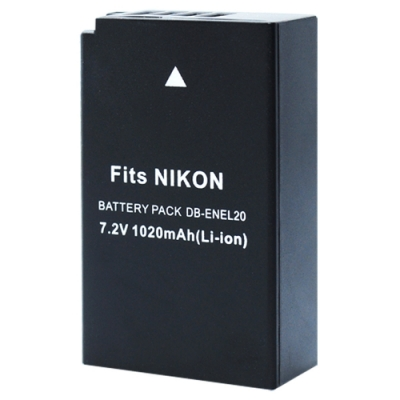 Kamera 鋰電池 for Nikon EN-EL20 (DB-ENEL20)