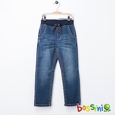 bossini男童-束口牛仔褲02靛藍