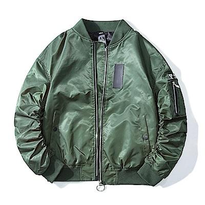 BuyGlasses 拉鏈防風保暖飛行外套夾克