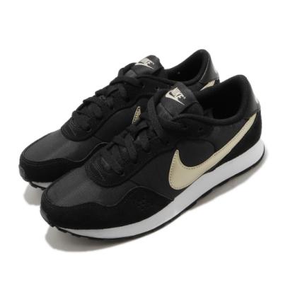 Nike 休閒鞋 MD Valiant 復古 運動 女鞋 基本款 簡約 舒適 球鞋 穿搭 大童 黑 金 CN8558009