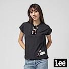 Lee 落肩別針T恤/RG-落肩版-黑