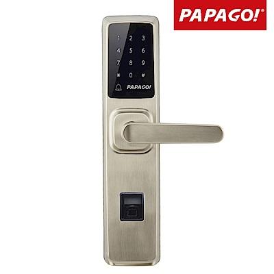 PAPAGO! AL- 8100 指紋密碼感應卡鑰匙 4 合一電子智能門鎖(含安裝)