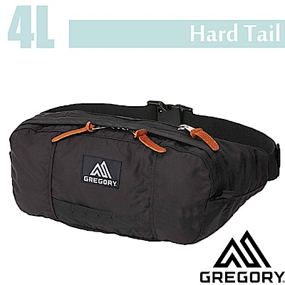 GREGORY Hard Tail 時尚腰包4L_黑