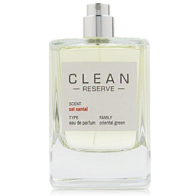 CLEAN RESERVE SEL SANTAL煙霞檀香淡香精 100ml Tester