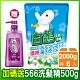 白鴿天然濃縮抗菌洗衣精 棉花籽護纖-補充包2000gx6包(加碼送植萃566洗髮露500gX1瓶) product thumbnail 1
