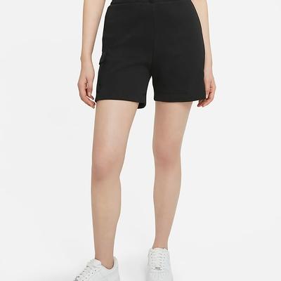 NIKE AS W NSW SWSH SHORT FT HR 女 短褲 黑-DA3488010
