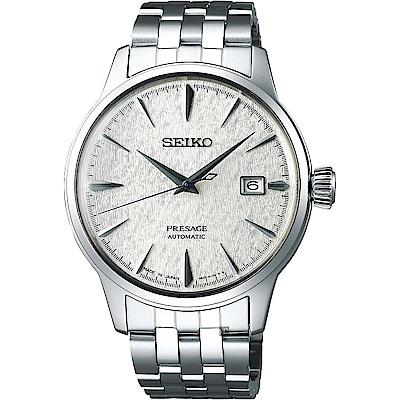 (無卡分期6期)SEIKO 精工 Presage Fuyugeshiki 調酒師限量機械錶