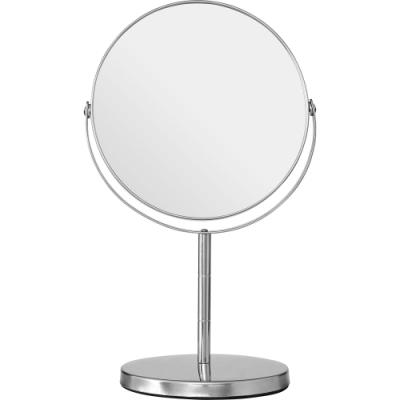 《Premier》雙面高腳桌鏡(銀29cm)