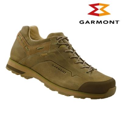 GARMONT 男款Gore-Tex低筒休閒旅遊鞋Miguasha 沙綠色