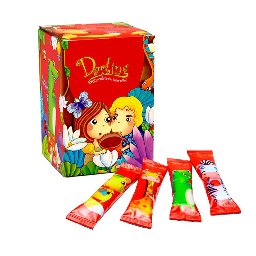 (即期品)親愛的巧克力(不加糖)(30gX120包)