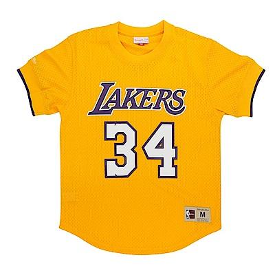 M&N NBA 球員號碼T恤 湖人隊 Shaquille O Neal
