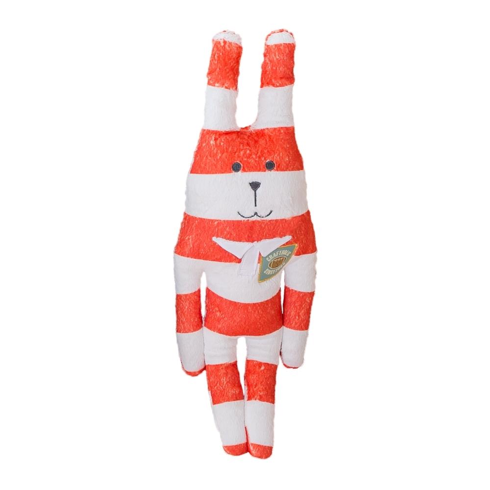 CRAFTHOLIC 宇宙人 橄欖球員兔小抱枕( 限定款 )