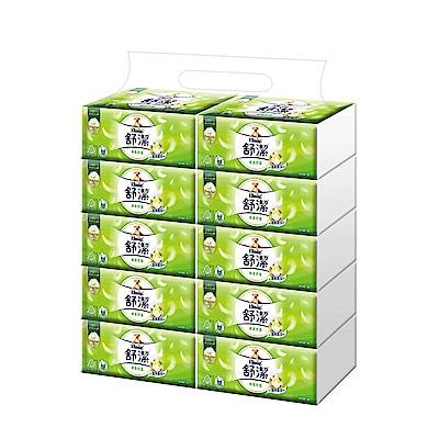 舒潔 棉柔舒適抽取衛生紙 100抽x10包x4串/箱