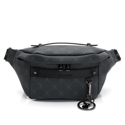 PLAYBOY- 腰包可做單肩背包 evolution系列-灰色