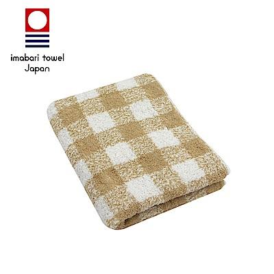 日本今治 純天然有機棉無染色毛巾(方格-秋香綠)