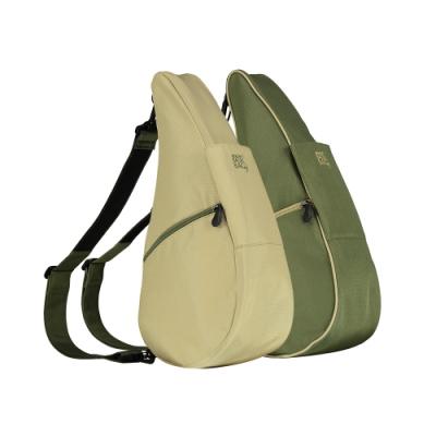 Healthy Back Bag 雙面水滴單肩側背包-S 森綠青