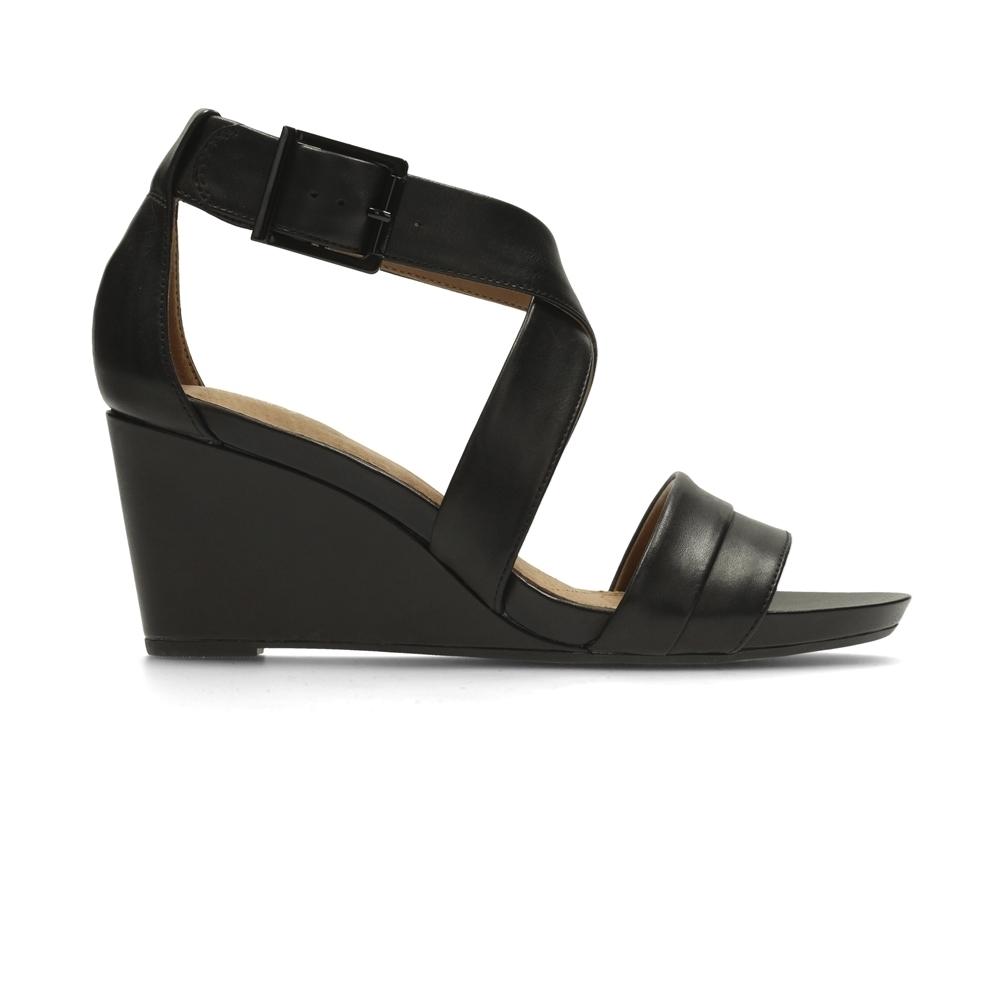 Clarks Acina Newport 女涼鞋 黑
