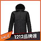 Timberland 男款黑色休閒連帽防水外套|A1Y5F