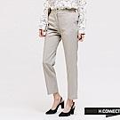 H:CONNECT 韓國品牌 女裝 - 質感素面西裝褲-灰