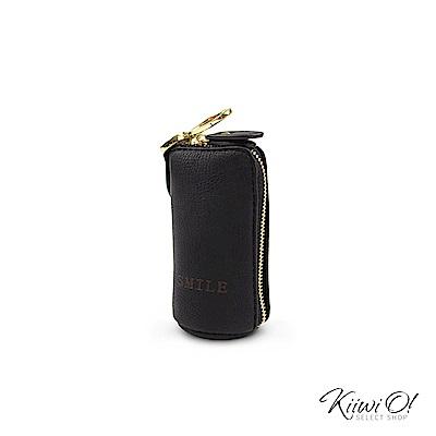 Kiiwi O! 大容量 鑰匙包/零錢包 Willa 黑