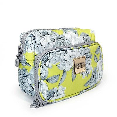 VOVAROVA空氣包-雙層化妝包-花漾 • 黃