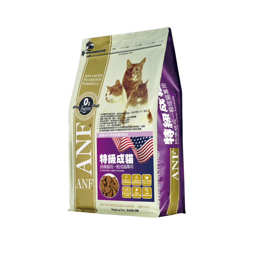 【ANF 愛恩富】特級成貓6kg(挑嘴貓或一般成貓專用)
