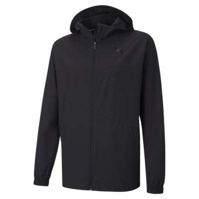 PUMA-男性訓練系列Power Training風衣外套-黑色-歐規