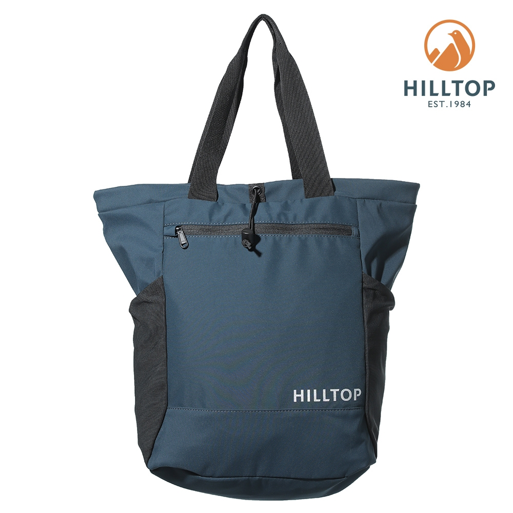 【hilltop山頂鳥】超潑水20L多功能後背包T28XA0藍