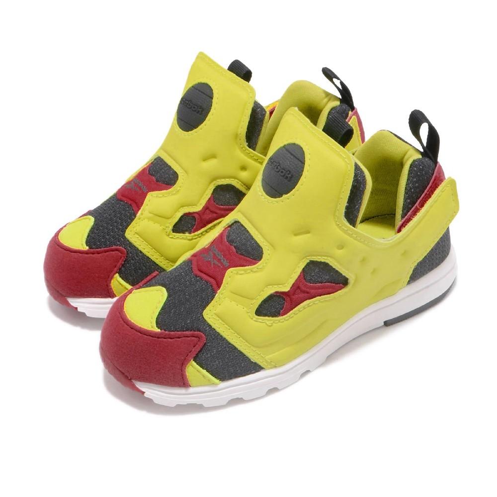 Reebok 慢跑鞋 Versa Pump Fury 童鞋